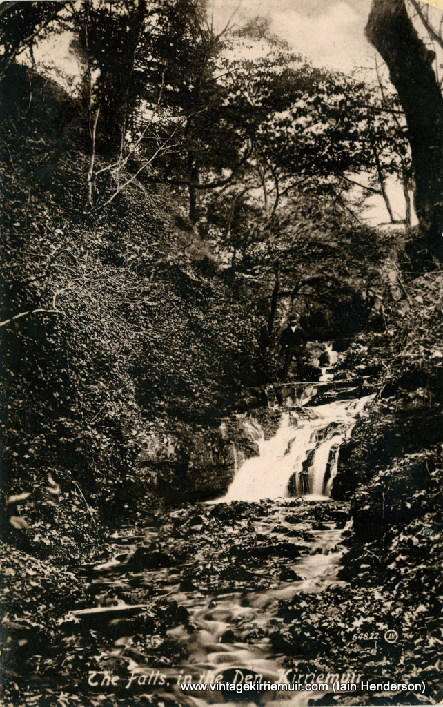 The Falls in The Den, Kirriemuir (1915)