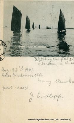The Herring Fleet at Aberdeen (1901)