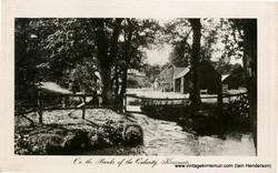 On the banks of the Quharity, Kirriemuir (1914)