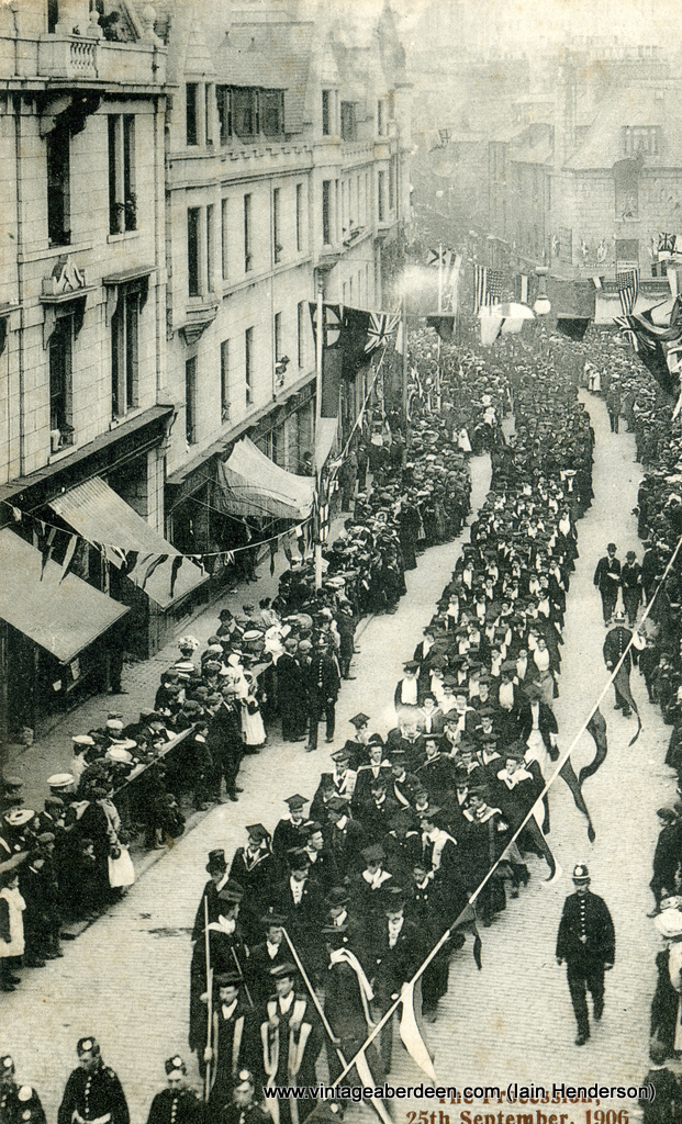 The procession for royal opening