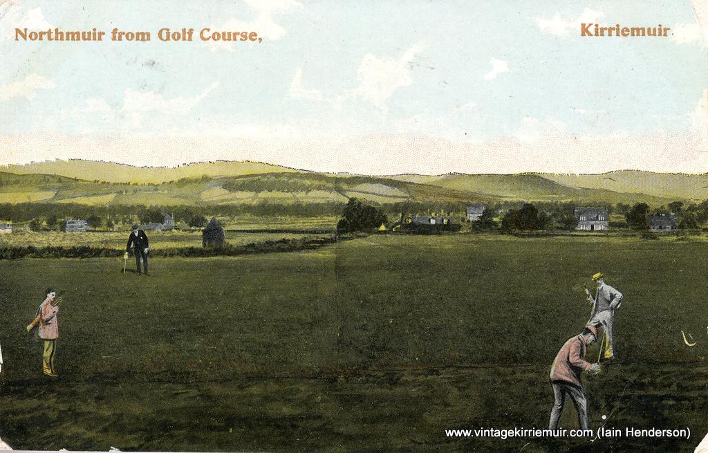 Northmuir from Golf Course, 1907