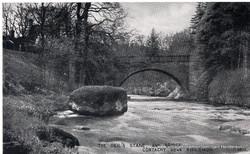 The Deil's Stane & Bridge, Cortachy