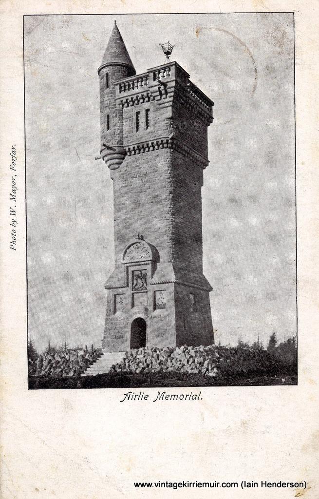Airlie Monument (Memorial), Kirriemuir (1903)