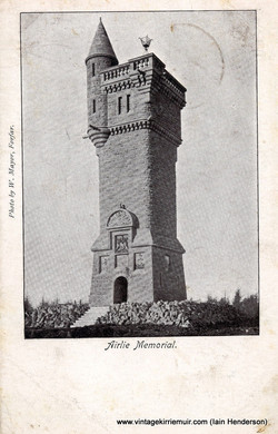 Airlie Monument (Memorial), Kirriemuir (1903)