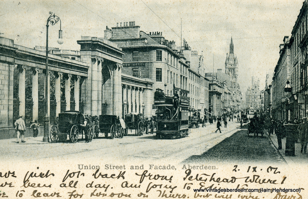 Union Street and Facade (1902)