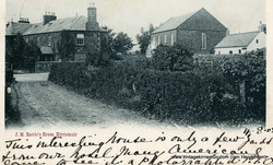 Window in Thrums & Forfar Road 1903