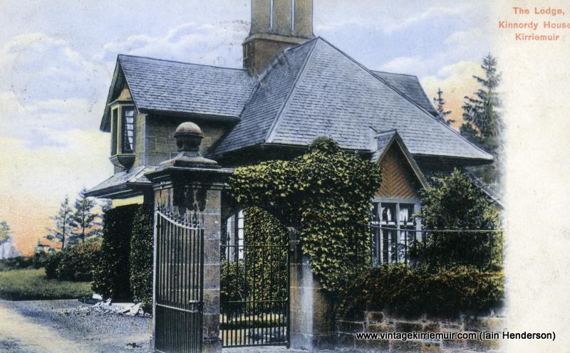 The Lodge, Kinnordy House, Kirriemuir (1906)