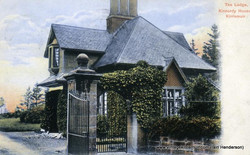 The Lodge, Kinnordy House, Kirriemuir (1906)