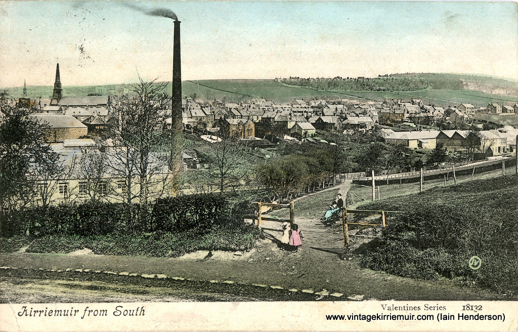 Kirriemuir from the Commonty 1906