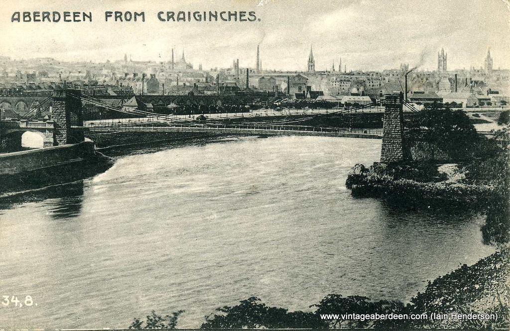 Aberdeen from Craiginches (1904)