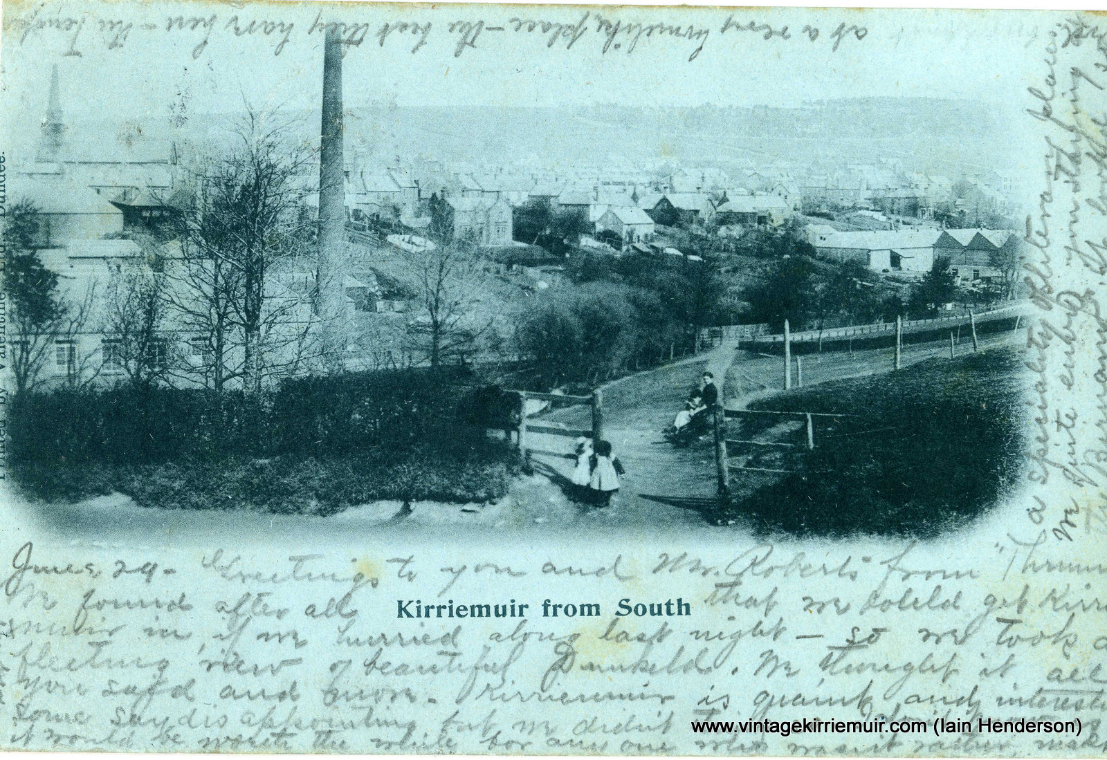 Kirriemuir from South, 1901