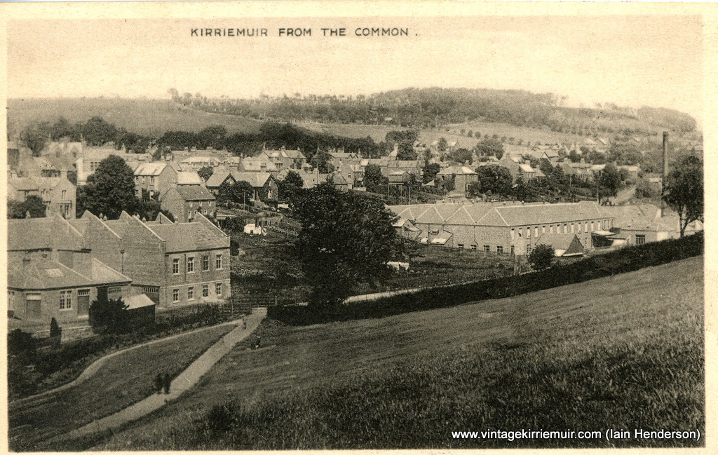 Kirriemuir from the Commonty