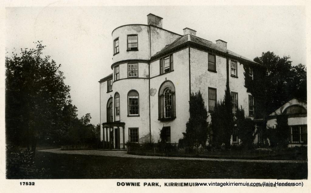 Downie Park, Kirriemuir (1909)