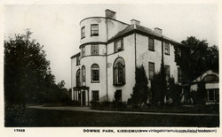 Downie Park, Kirriemuir (1909)