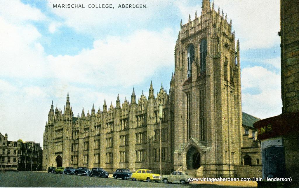Marischal College, Aberdeen (1950s)