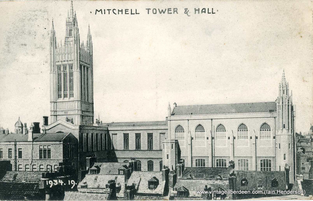 Mitchell Tower and Mitchell Hall, Marischal College