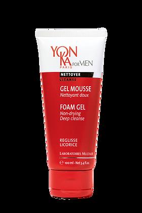Gel mousse nettoyant Yon-Ka for men
