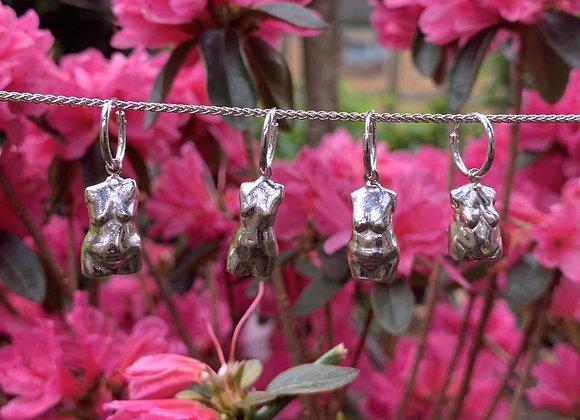 Silver Body-Normative Earrings