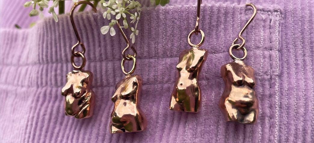 Bronze Body-Normative Earrings
