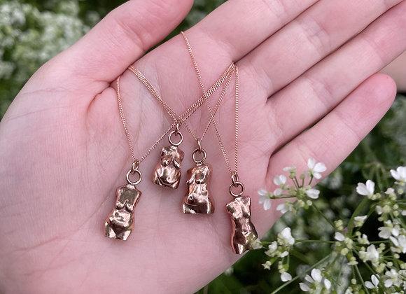 Bronze Body-Normative Necklaces