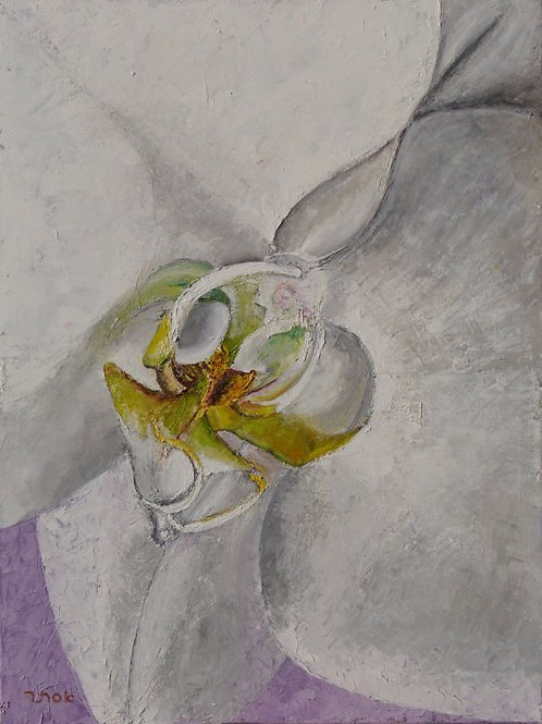 Flower Painting - Orchid