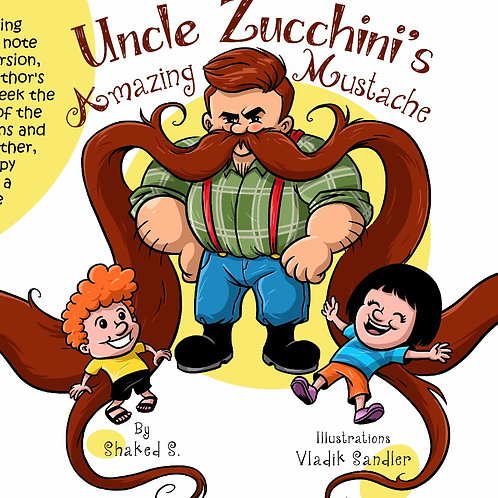 Uncle Zucchini's Amazing Mustache - Print-and-Paste game!