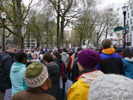 March for Our Lives in Portland: Notes & Impressions