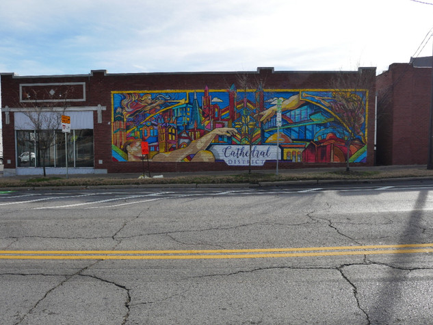 Cathedral District mural