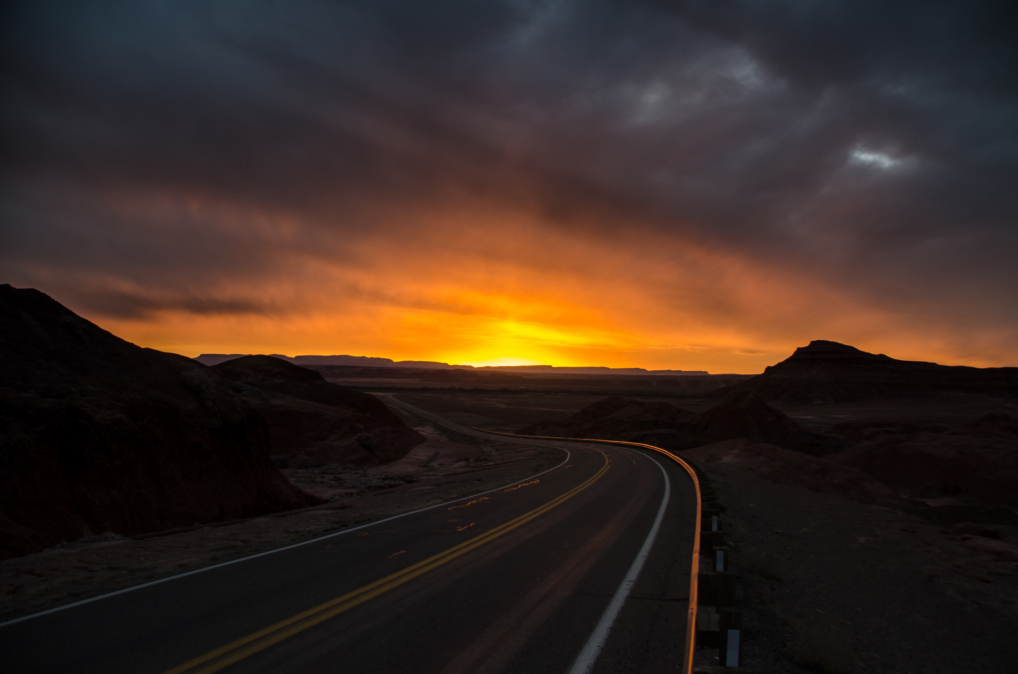 2015-02-21 - Sunset In The Painted Desert - 019