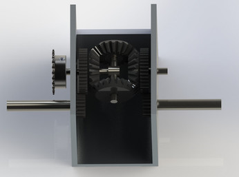 Differential CAD model
