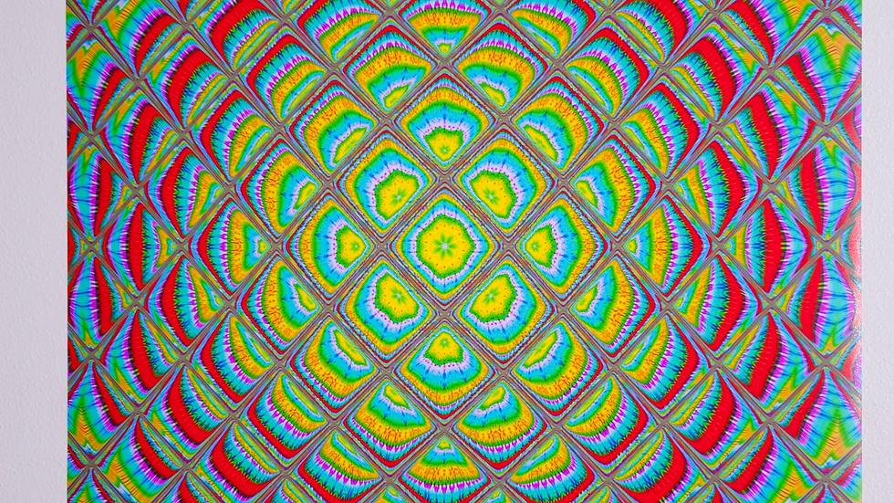 "Tie Dye Design Poster (24"" x 36"")"