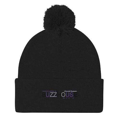 BUZZHOUSE ポンポン付きニット帽
