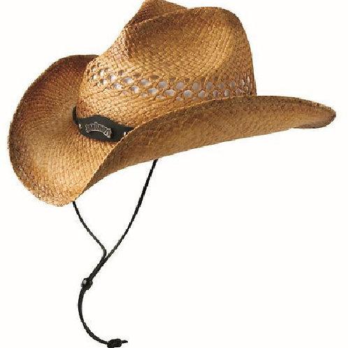 Hat-Cowboy Natural Straw Color