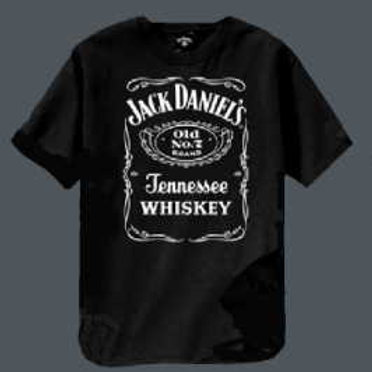 Bottle Label Black T-Shirt