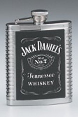 Jack Daniel's 6 oz Leatherette Flask