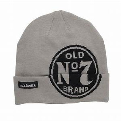 Gray Old No. 7 Beanie