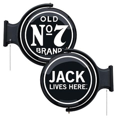 Jack Lives Here Rotating Pub Light