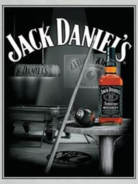 Jack Daniel's Pool Room & Cue Bar Sign