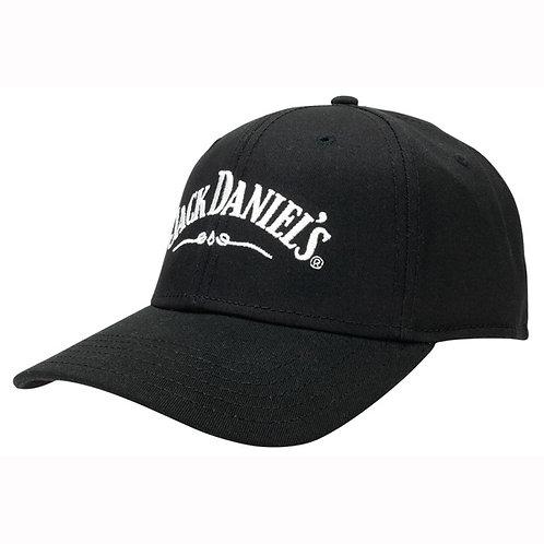 """Jack Daniel's Black """"Jack Lives Here"""" Fitted Hat"""