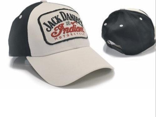 JACK DANIEL'S & INDIAN MOTORCYCLE ADJUSTABLE HAT