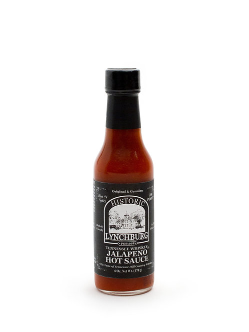 Historic Lynchburg TN Whiskey Jalapeno Hot Sauce