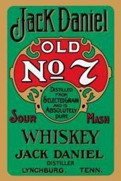 "Jack Daniel's ""Green Label"" Bar Sign"
