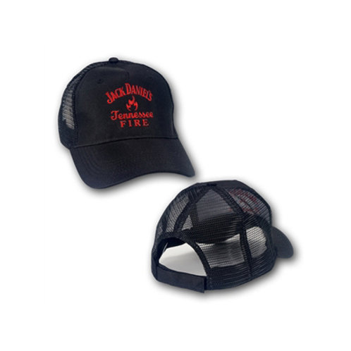 Jack Daniel's Tennessee Fire Whiskey Adjustable Mesh Hat