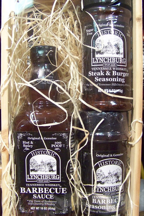 TN Whiskey Mild Grilling Gift Crate