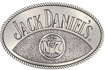 JACK DANIEL'S RODEO BUG LOGO BELT BUCKLE (5046JD)