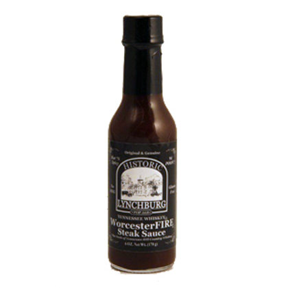 Historic Lynchburg TN Whiskey WorcesterFIRE Steak Sauce