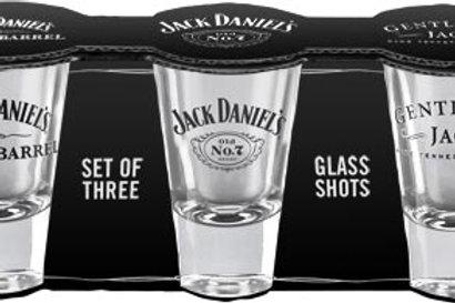Jack Daniel's Set Of 3 Shot Glasses
