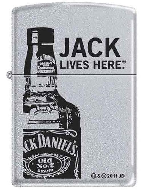 Jack Lives Here Bottle Zippo