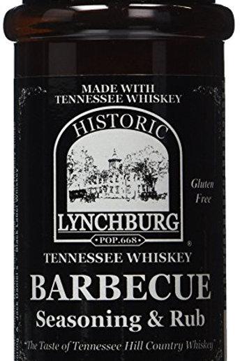Historic Lynchburg TN Whiskey Dry Rub and Seasoning
