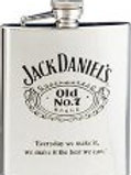 Black Letter Old No. 7 Cartouche Flask